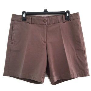 Land N Sea Brown Casual Shorts Size 8